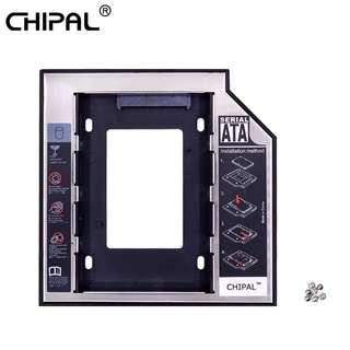 "CHIPAL Universal 2nd HDD Caddy 12.7 mm 2.5"" SATA Or HDD with LED Indicator For Laptop"