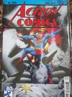 Action Comics, #1000, Superman, Steve Rude cover.