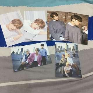 BTS & Jungkook Postcard