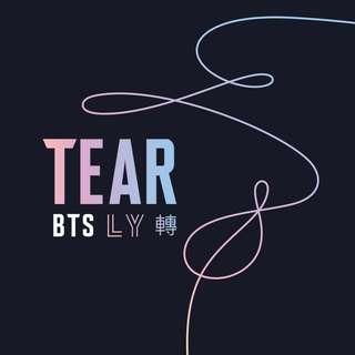FIRST PRESS BTS TEAR ALBUM (SEALED)