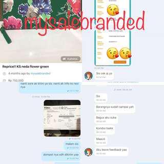 Testimoni & Bukti Pengiriman ke buyer mysalebranded #testimysalebranded