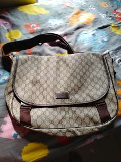 Gucci pvc messager bag