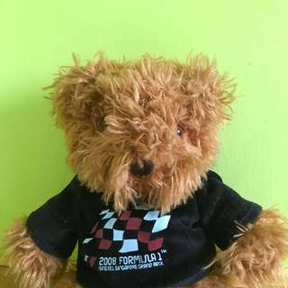 Singapore Grand Prix Formula 1 Teddy Bear (2008)