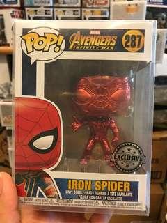 Spider-Man Chrome Funko