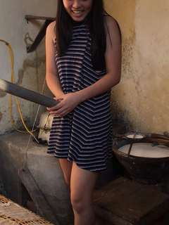 All About Eve Striped Tshirt Dress