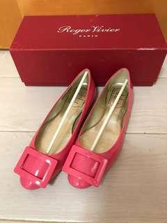 Roger Vivier Flats 粉紅色平底鞋