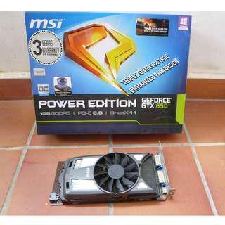MSI Geforce GTX 650 Power Edition [a3]