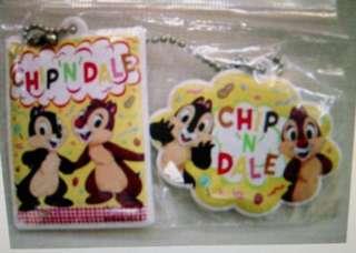 大鼻鋼牙 Chip n Dale 膠匙扣