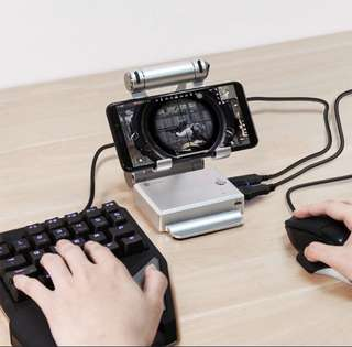 Mobile Keyboard & Mouse Adapter for PUBG, Mobile legend etc