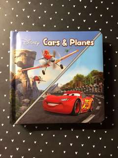 BN Pixar Cars & Planes baby learning book