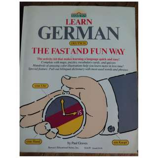 German Deutsch Books RARE