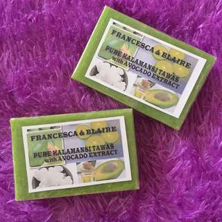 Pure Kalamansi Tawas with Avocado Extract Organic Soap