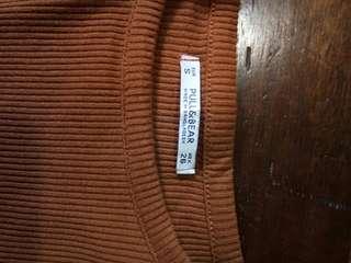 Pull & Bear Ribbed Sweater