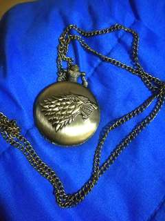 Game of Thrones - Stark Pocket Watch