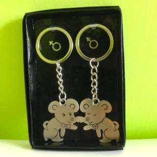 🆕Matching Cute Mouse Couple Keychain (Magnetic)