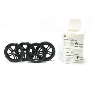 ImperiumCycle Eazy Wheels for Brompton