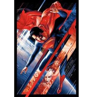 Man of Steel - Ansin By Martin Ansin Poster Mondo
