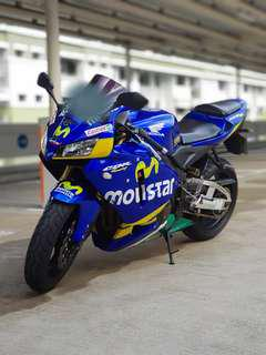 HONDA CBR600RR 2005 for sale!!! Pay by installments available!!! Nego!!!