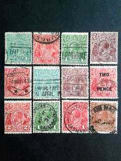Australia stamps#1