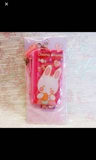 Sanrio 絕版罕有 Cheery Chums Mini Mesh Bag (可放 USB SDcard Key)