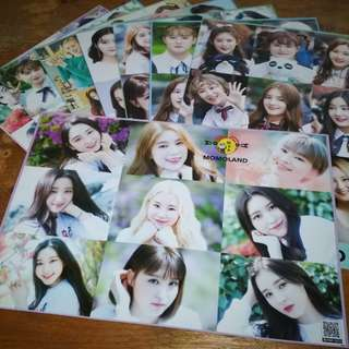 MOMOLAND A3 POSTERS