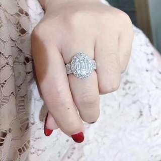 18k鑽石2.31ct戒指