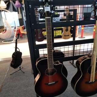 Gitar yamaha apx 600 bisa dicicil proses cepat