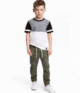 H&M Jogger Pants 2-3 Y/O