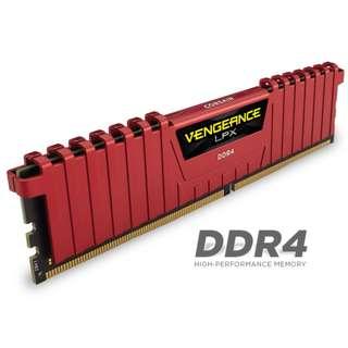 1x8GB Corsair Vengeance DDR4 3000 Mhz