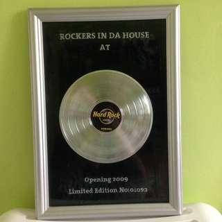 Limited Edition Hard Rock Hotel (Penang) frame