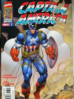Captain America # 7, Jim lee cvr
