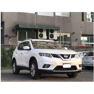 Nissan X-TRAIL 2.0cc//全額貸 低利率 低月付 歡迎預約賞車👏