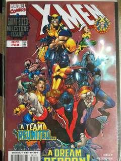 X-men #80, Marvel comics