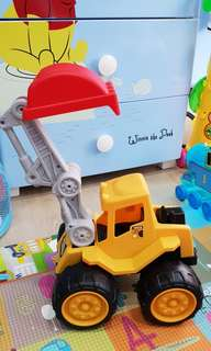 Construction Digger Toy
