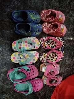 Bundle shoes/sandals