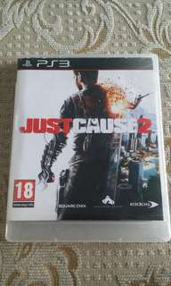 PS3 Just Cause 2 Game