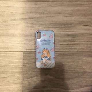 iPhone X Alice case