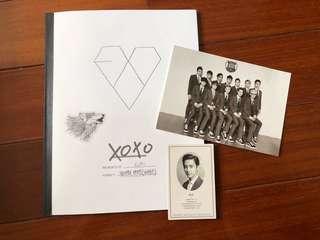 🚚 EXO XOXO(kiss&hug) 專輯