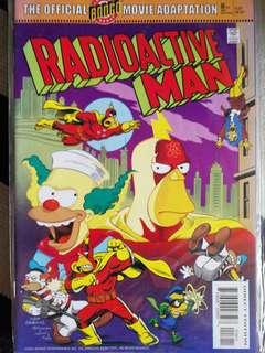 Radioactive Man, the Simpson's, comic..