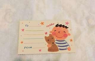 大口仔post card (絶版)
