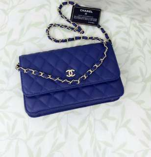 Chanel WOC Blue Color