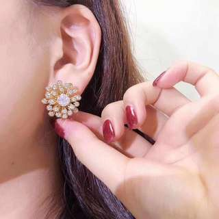 18k鑽石2.26ct耳釘