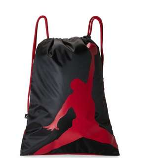 Original Jordan Drawstring Backpack Bag