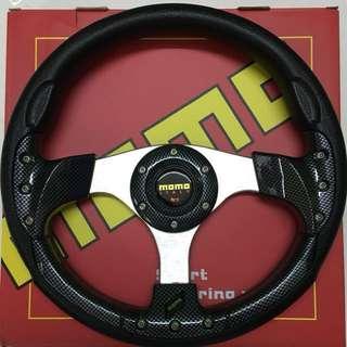 """13"""" MoMo carbon sport steering"""