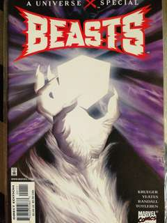 Earth X, Beast special. Marvel comics