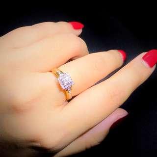 18k0.40ct鑽石戒指