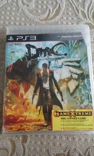 PS3 DMC: Devil May Cry Game