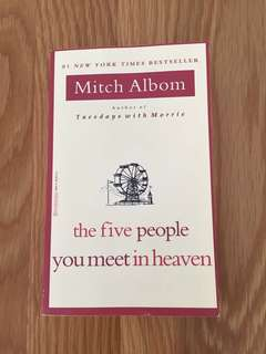 Mitch Albom books (for 2 books)