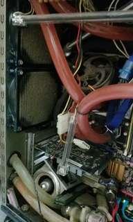 電腦mon+水冷機箱全套