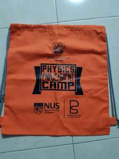 Nus Draw string bag /free Mailing